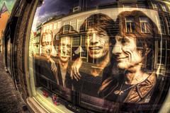 The Rolling Stones in Dordrecht (Fr@nk ) Tags: holland topf25 topf50 topf75 europe stones sony rr keith ron charlie dordrecht mick pm hm topf100 therollingstones jagger mickjagger nex thestones fisheyeconverter sonynex watmooi 3676115 mrtungsten62 frankvandongen wwworvilnl