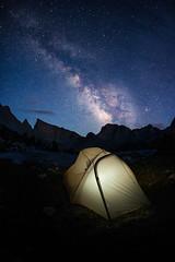 Deep Lake Milky Way