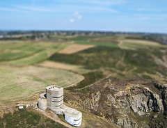 Bunker (Ningaloo.) Tags: tower shift aerial bunker german ww2 tilt guernsey aeriali