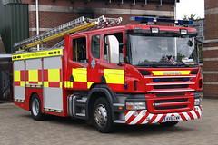 Isle of Wight - KX61CWM - Ryde - T04P2 (matthewleggott) Tags: rescue fire engine service isle appliance wight scania jdc kx61cwm