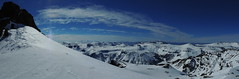 Panorama Cumbre Cerro Dedos (Mono Andes) Tags: chile panorama patagonia ski argentina andes invierno skitour esquí neuquén panorámica randonné chilecentral fotocumbre cerrodedos vallechaquilvín