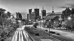 Another shot from Warsaw (Szymon Capiski Photography) Tags: city travel panorama skyline architecture night canon buildings europe postcard famous capital poland polska polish warsaw warszawa attraction destinations mazovia 60d