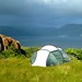 Camp above Loch na Keal
