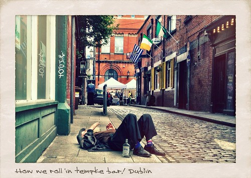 Temple Bar Drunkard.