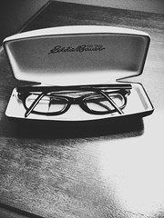 Day 252 - New Specks (Cantimpalo) Tags: glasses blurry hipster case foureyes iphone iphoneography uploaded:by=flickrmobile graphitefilter flickriosapp:filter=graphite
