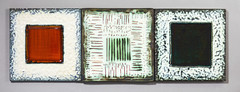 Moulded tiles by Kenneth Clark (robmcrorie) Tags: london 1955 modern century tile ceramic glaze clark mid kenneth lewes mcm moulded kennethclark