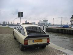 My ex Citron GS X3 (1979) (XBXG) Tags: auto old france classic netherlands car vintage french rotterdam beige automobile nederland citron voiture 1979 paysbas gs ancienne x3 franaise pernis citrongs fh37tj
