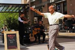 Ageless dancer (yellowjacketz) Tags: musician rocks day dancing guitar duo sydney sunny dancer violin ageless