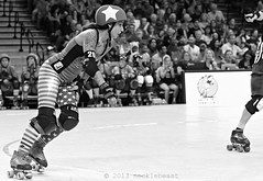 1scdg_vs_svrg_L1030527 (nocklebeast) Tags: ca santacruz sports rollerderby rollergirls skates scdg scphoto siliconvalleyrollergirls santacruzderbygirls dotkamikazes boardwalkbombshells kaiserpermanentearena kparena
