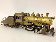 Various HO Scale Brass Steam & Diesel Locomotives - Union Pacific RR 0-6-0 Switcher by PFM / KAT/ADACH in 1960 (bslook1213) Tags: railroad japan diesel korea hobby ho prr kmt steamlocomotive goo