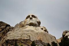 George Washington (Mike Dargy Photography) Tags: mountains southdakota blackhills georgewashington mtrushmore