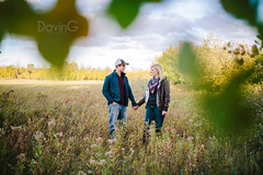 Jesse + Josh (DavinG.) Tags: portrait fall 35mm jesse couple josh vegreville hamaliuk davingphotography