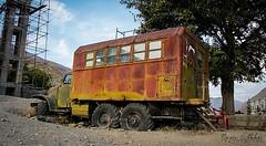 Rusty Truck (Nazir Ekhlass) Tags: brown afghanistan man car truck freedom rust war fighter ngc rusty armor nik russian hdr flicker jihad nationalgeographics vehical mujahideen nazir flickraward nikonflickraward nazirekhlass