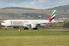 Emirates | Boeing 777-31HER | A6-ECJ (Ryan Douglas.) Tags: airport ryan glasgow emirates boeing douglas 777 gla 77731her egpf a6ecj ryansairlinepictures