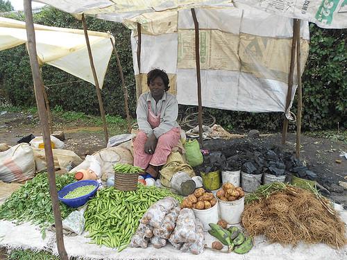 Vendor in Molo