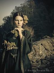 Marco Busato Ph (Danielle Fiore) Tags: history beauty dark torino model dress gothic medieval fantasy brige turin modella lanzo daniellefiore