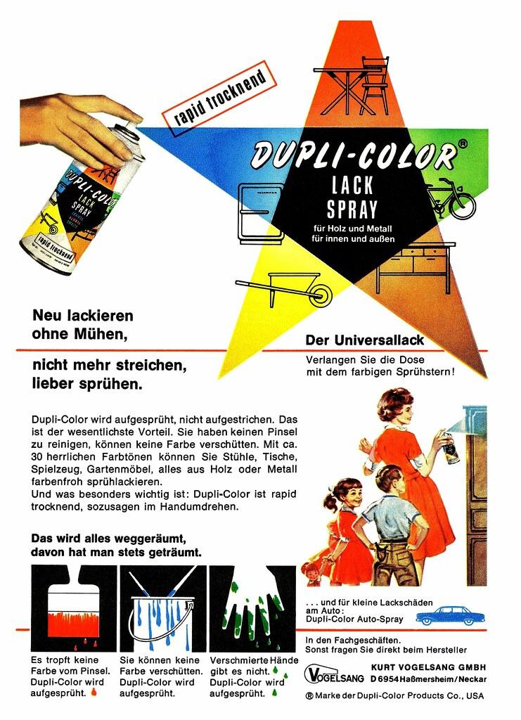 Dupli Color® (1959) Universallack (H2O74) Tags: Old Usa Color
