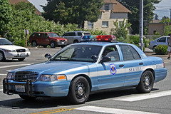 Seattle Police Department Ford Crown Victoria Police Interceptor (andrewkim101) Tags: seattle county trooper ford washington memorial state police victoria sean wa crown procession department patrol everett oconnell interceptor snohomish