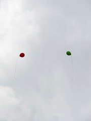 fly high (tingkeobel) Tags: sky balloons fly