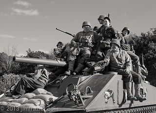 Riding the Tank