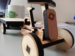 vrachtfiets-toy (@WorkCycles) Tags: toy miniature wooden open pickup mini tiny bakfiets workcycles vrachtfiets