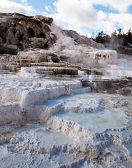 Mammoth Hot Springs Terraces (Rachel Dunsdon) Tags: usa terraces pools limestone yellowstone mammothhotsprings