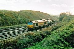 60024 (marcus.45111) Tags: 2005 landscape diesel derbyshire transport railway tug ews semaphores peakforest ukrailway 60024 stabled ukbuilt classictraction