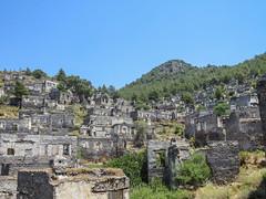 Turkey Hisaronu (Guy Pedley) Tags: canon turkey ghosttown kaya kayakoy ldeniz mugla hisaronu sx50