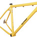 Gunnar Ruffian Single Speed with Paragon Slider dropouts finished in Bamboo with Black Bullseye Decals.