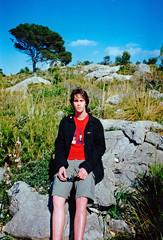 (mightymightymatze) Tags: 2003 vacation holiday me analog myself island spring spain urlaub insel analogue mallorca ich ferien spanien majorca frühling icke frühjahr i