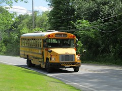 First Student #563 (ThoseGuys119) Tags: 2005 white ny thomas top storage schoolbus extra built wallkill freightliner fs65 luggagebay firststudentinc
