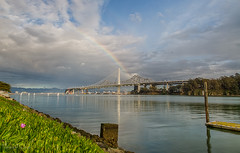 M94A9171_HDR (Tommys Pix) Tags: sanfrancisco storm clouds marina rainbow baybridge hdr sanfranciscooaklandbaybridge