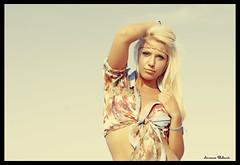 Hippie. (Lorenzo Babucci.) Tags: blue summer portrait people bw italy woman white black sexy girl smile look night portraits canon vintage donna model eyes nikon italia fiume picture occhi hippie sensuality ritratti ritratto pensieri gabbiano beautifull bellezza intruder ragazza libert themoon labbra