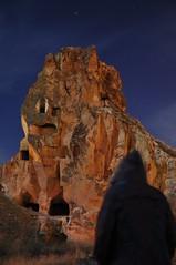 Sivritaş gecesi (Osman Demir) Tags: trip nature turkey nikon türkiye turquia cappadocia osman gece gezi turchia kapadokya ürgüp capadocia turkei demir d90 doğa fotografı urgub sivritaş