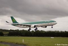 Aer Lingus A330-300 EI-DUB (robclayton26) Tags: stpatrick aerlingus shannonairport a330300 eidub