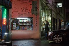 Untitled (Ranga 1) Tags: city nightphotography girl car rain night umbrella canon streetlight nocturnal candid australian streetphotography australia melbourne streetscene victoria bourkestreet nightexposure davidyoung crossleystreet ef24105mmf4lusm canoneos5dmarkii