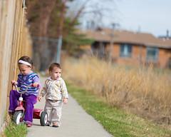 Haley and Baby Trike (5) (Super Saiyan Photography) Tags: bokeh redring canon5dmarkiii 70200mm28isii saiyangin
