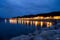 Nell'ora blu (or.spe25) Tags: blue canon tramonto sigma hour 7d 1020 cilento