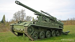Mk F3 155mm (mf kamaruddin) Tags: france self vintage army base propelled howitzer canjuers