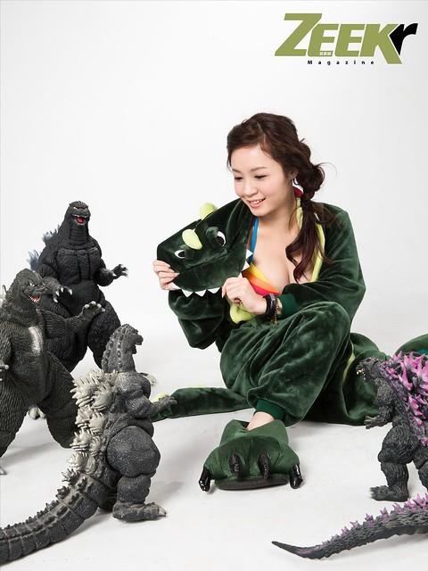 ZEEK Girl-恐龍戰隊2