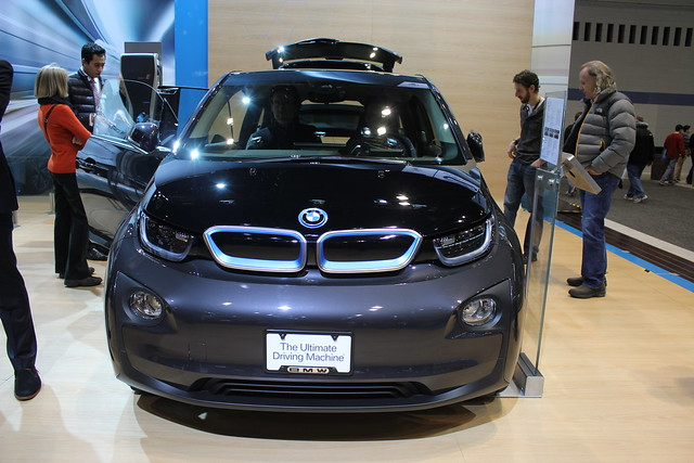 auto show chicago bmw i3 2015