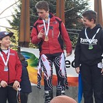TECK U14 GS Whistler, Gold - Eric Smith, Silver - Ethan Shandro, Bronze - Tait Jordan, all from WMSC PHOTO CREDIT: Davis Jevning