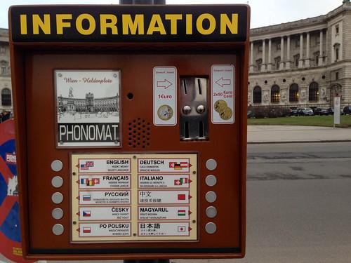 Information - Heldenplatz Vienna - Jan 2015