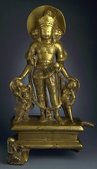 The Hindu God Vishnu LACMA M.80.6.2 (2 of 2) (Fæ) Tags: wikimediacommons imagesfromlacmauploadedbyfæ sculpturesfromindiainthelosangelescountymuseumofart vaikunthachaturmukha