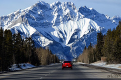 Heading to the mountains (~ Mariana ~) Tags: winter light sky snow canada nature landscape nikon ab rockymountains mariana saariysqualitypictures travelsofhomerodyssey outstandingromanianphotographers marculescueugendreamsoflightportal