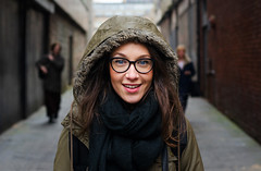Claudia (Charles Hamilton Photography) Tags: street winter people face 50mm eyes italian expression glasgow streetphotography streetportrait style stranger citycentre shoppers trongate milanese characterstudy peopleinthecity girlinthecity portraitofgirl brunswicklane colourstreetportrait nikond7000 winteringlasgow glasgowstreetportrait italianinglasgow