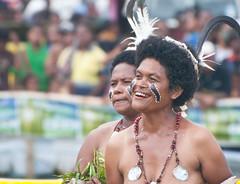Ware smile 1 (Sven Rudolf Jan) Tags: smile dancing traditional papuanewguinea alotau wareisland canoeandkundufestival