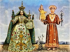 Maria SS. del Rosario con Sant' Antonio di Padova (Albie Yack) Tags: saint madonna mary virgin anthony antonio sant nicastro
