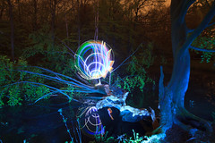 Treeaxial (Hugo Baptista) Tags: longexposure lightpainting lightart