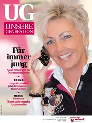 Galerie-Neu (Markus Koepf) Tags: handy model frau telefon alter mode generation seniorenhandy